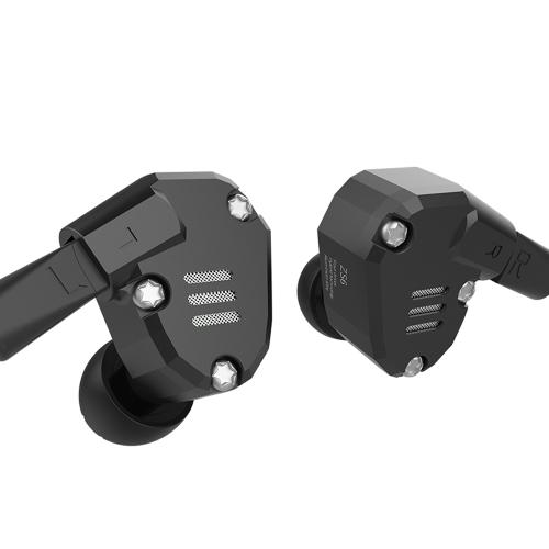KZ ZS6 dans l'oreille 3.5mm avec le câble d'écouteur de rechange