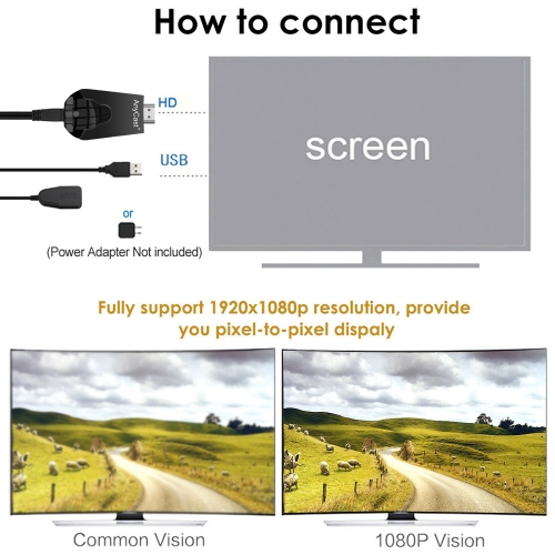 AnyCast K4-1 Wireless WiFi Display Dongle Receiver