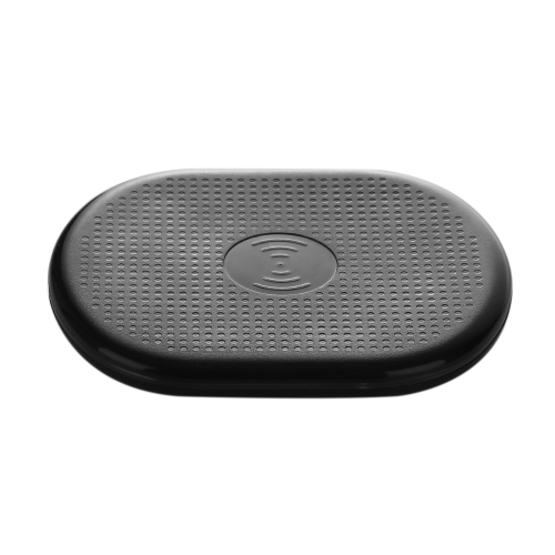 Ultra Slim Pad Sans Fil QI Chargeur Rapide Noir