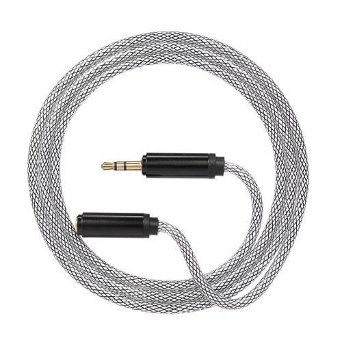 3,5 мм Jack Audio Cable 3,5 мм Мужской к женскому автомобилю Дополнительный аудио стерео кабель, синий фото