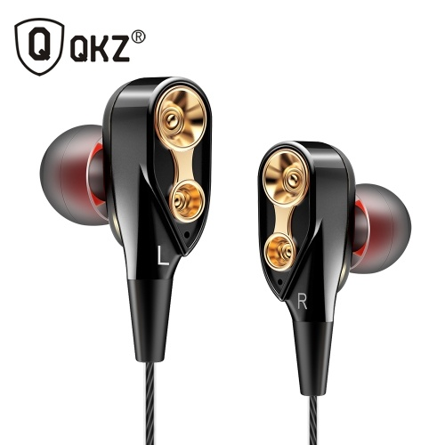 QKZ CK8 3.5mm Wired In-ear Headphone with Microphone