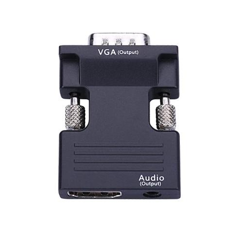 1080P HD Multimedia Interface Female To Vga Male