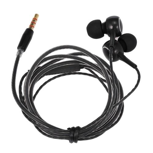 3,5 mm przewodowe słuchawki douszne Słuchawki stereofoniczne