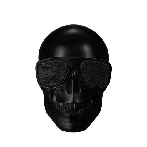Пластиковый скелет металлический беспроводной формы BT Speaker White
