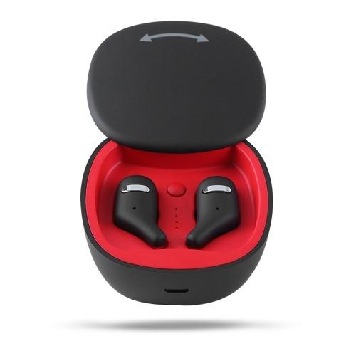 A2 True Wireless Bluetooth 5.0 Наушники-невидимки Мини-наушники Наушники-вкладыши Стерео Музыкальные гарнитуры Громкая связь с двумя микрофонами Зарядное устройство Поддержка 360 градусов вращения