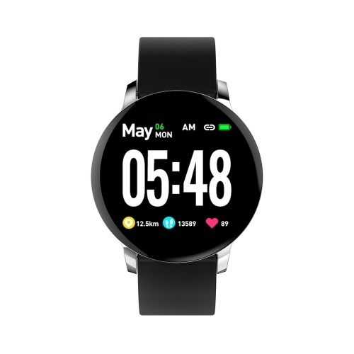 SmartWatch R-5 Sports Watch Heart Rate Sleep Monitor Blood Pressure Fitness Tracker for Android for IOS Music Control Color Screen Band Waterproof Intelligent Bracelet