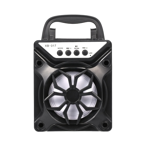 Portable BT Outdoor Speaker Support TF Card Square Dance Audio Black