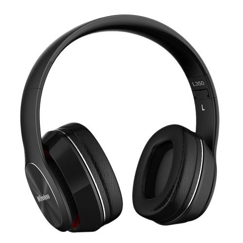L350 Sem Fio Bluetooth Fones de Ouvido Fones De Ouvido Sobre-orelha Bluetooth 5.0 Esportes Fones De Ouvido Apoio TF Cartão de 3.5mm AUX IN FM rádio w / Mic