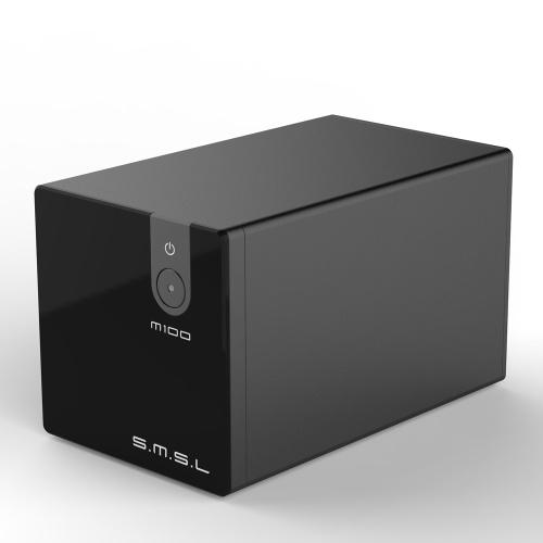 SMSL M100 Áudio USB DAC AK4452 HiFi Decodificador DSD512 Amplificador Digital Entrada USB Coaxial Entrada Analógica-para-Digital