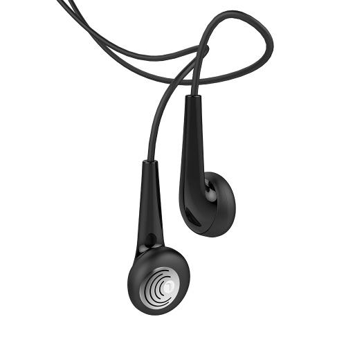 UiiSii U6 en la oreja los auriculares estéreo con micrófono altamente sensible de 3,5 mm con conexión de cable para iPhone Xiaomi Android MP3