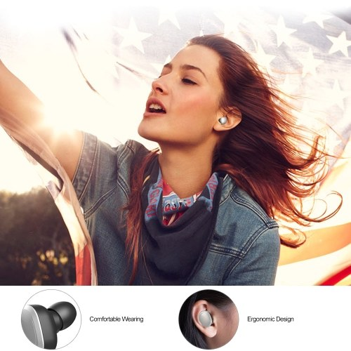 T12 TWS Earbuds True Wireless Bluetooth 5.0 Headphones In-ear Stereo Music Headsets Invisible Earphone Hands-free with Microphone Charging Box CVC6.0