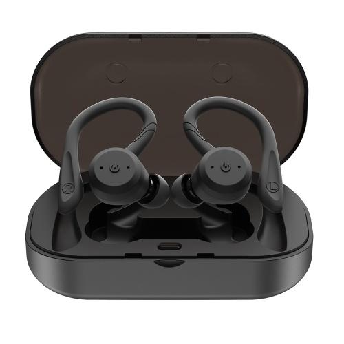 TWS Earbuds Cuffie senza fili Bluetooth 5.0 con scatola di ricarica
