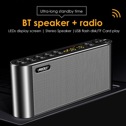Q8 Portable Speaker Wirelessly BT Audio Speaker USB HiFi Loudspeaker Box