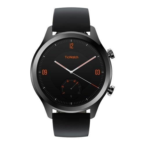 TicWatch C2 Smart Watch Outdoor Smartwatch 24hr Heart-rate Monitor IP68 Waterproof Dustproof Built-in GPS Smart Fitness Tracking NFC Payment Wear OS by Google