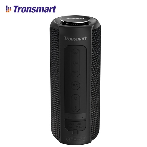 Tronsmart Element T6 Plus 40W Portable Speaker Bluetooth 5.0 IPX6 Water-resistant TWS Stereo Sound Hands-free Calling Wireless Speaker with Deep Bass for Home Outdoors
