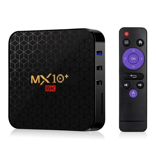 MX10 Plus Android 9.0 Smart TV Box Allwinner H6 UHD 4K Media Player