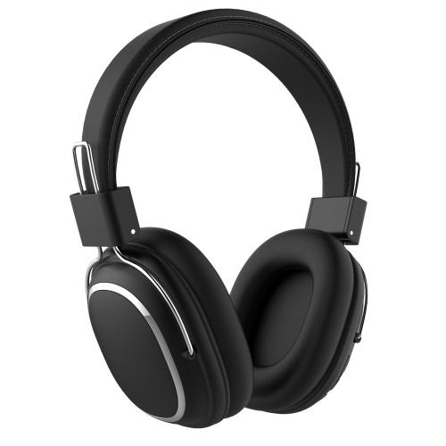 SD-1004 Casque d'écoute supra-auriculaire sans fil Bluetooth 5.0 Écouteur avec microphone Contrôle du volume Jeu Casques de sport