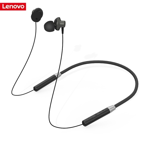 Lenovo Bluetooth Headphones IPX5 Waterproof Wireless Sport Earphones