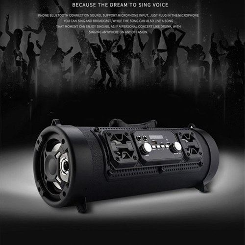 M17 Wireless BT Speaker Shock Bass Outdoor Powerful Multifunctional HiFi Stereo Speakers Handheld Soundbox