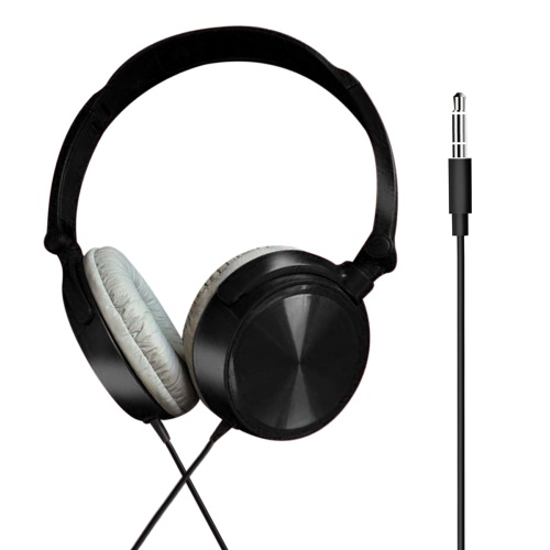 3.5mm Headset Professional Plug-and-Play Head-mounted Earphone for Computer and Mobile Phone