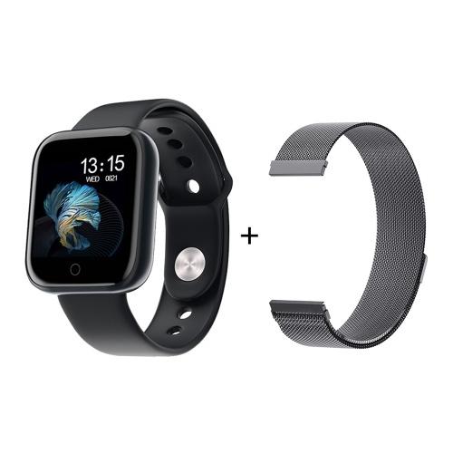 T80S Intelligente Uhr Männer und Frauen Körpertemperatur Herzfrequenzmesser Fitness Armband Sport Smart Uhr