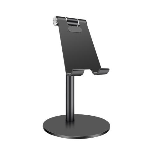 Suporte para telefone celular de liga de alumínio Suporte ao vivo para tablets PC Rack
