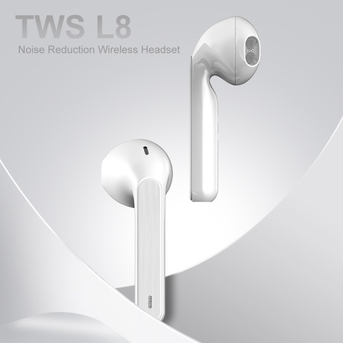 L8 TWS Wireless Earbuds Bluetooth 5.0 Earphone Touch Control with Mic Sports Headphones 3D Stereo Headset