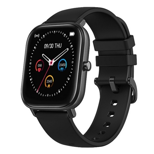 1.4in TFT Touching Screen Smartwatch Wristband BT Connection Bracelets IP67 Waterproof Fitness Sports Watch with Bloods Pressure Heart Rate Monitor Compatible with Android/iOS