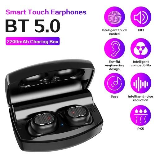 TWS-8PlusスポーツイヤホンステレオワイヤレスBT5.0イヤフォン