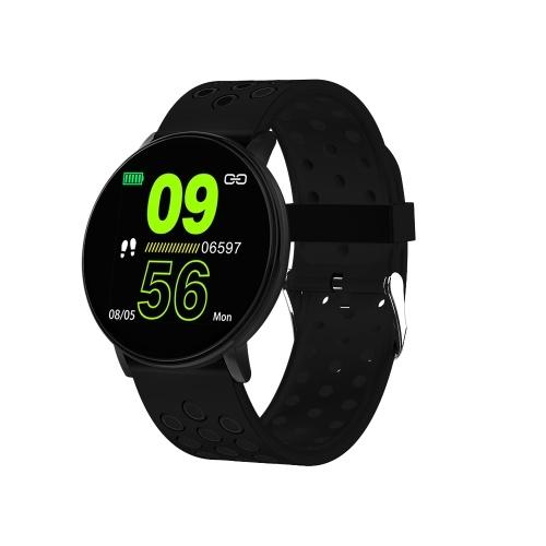 Relógio inteligente Bluetooth Pulseira Esportiva Freqüência Cardíaca Sono Monitoramento da Pressão Arterial APP Control for Sports Outdoor Modos Multi-esporte