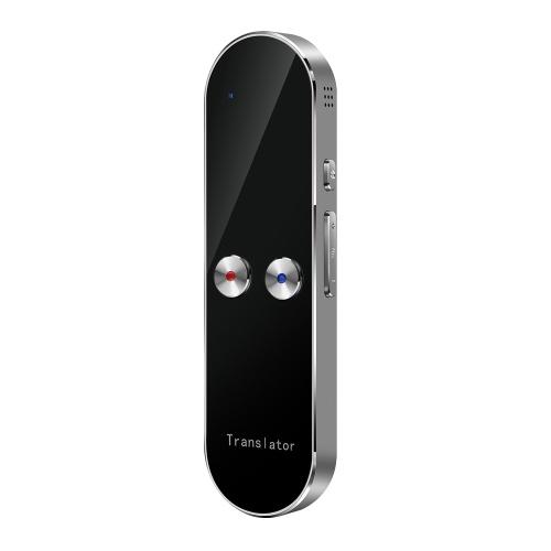 K8 Voice Translator Traduzione vocale intelligente Bluetooth portatile multilingue Traduzione in tempo reale per 68 lezioni di lingua all'estero all'estero