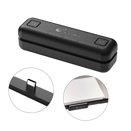 Gulikit NS07 BT Wirelessly Audio Adapter or Type-C Transmitter Compatible with Ninten-do Switch