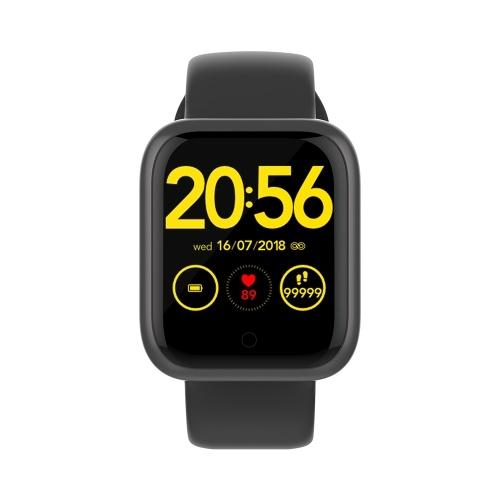 GT1 Smart Sport Band Fitness Tracker Armband Smart Watch Herzfrequenzmesser Armband Farbbildschirm Wasserdichter Blutdrucktest Schlafüberwachung Informationen Erinnerung