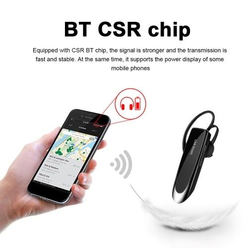 LINK DREAM LC-B41 Bluetooth 4.1 Headphones In-Ear Wireless Earphone Business Headset with Mic Handsfree Earbuds Mini Smart