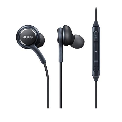 Fone de ouvido magnético de metal IG955 com fio de 3,5 mm na orelha com controle de volume do microfone compatível com S8