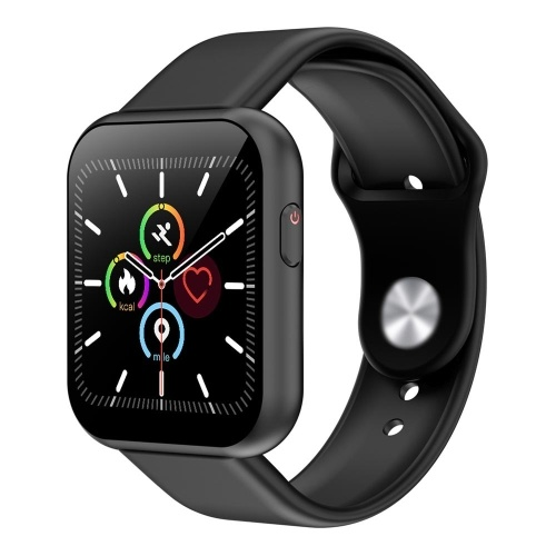 X6plus Intelligent Watch Touch Screen Dial Calls Message Reminder Heart Rate Monitoring USB Charge Sports Tracker (Black)
