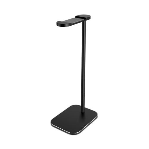 Suporte de mesa para fone de ouvido portátil Suporte para tablet em liga de alumínio Suporte para mesa Suporte para berço Suporte durável e antiderrapante Acessórios para suporte de tela