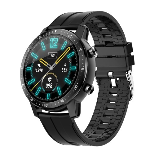 S30 Sport Smart Watch IP68 Waterproof Smartwatch 1.3 Inches Screen Custom Dial Calls SMS Reminder Heart Rate Sleep Monitor Sports Smart Band