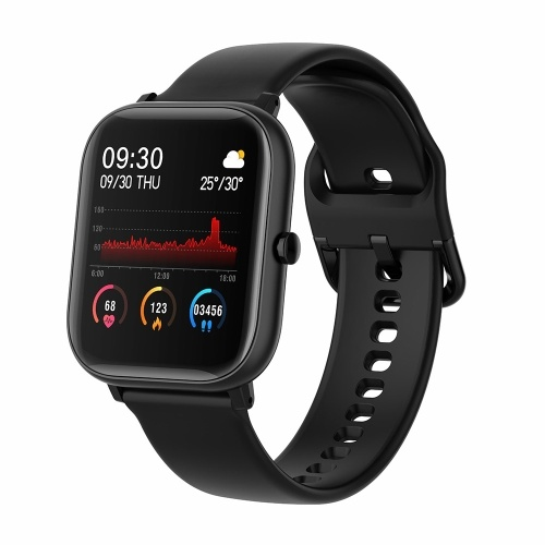 P20 1.4'' Full Touch Smart Watch Multi-sport Modes Heart Rate Monitoring Scientific Sleep Waterproof Fitness Tracker for Men Women Sports Smartwatch Compatible with Android/ iOS
