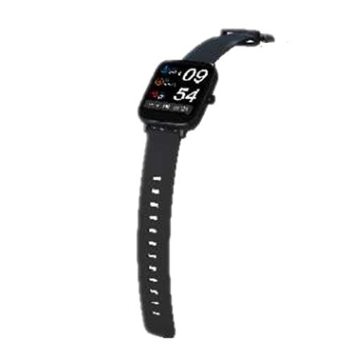 GT168 Интеллектуальные часы Многофункциональный мониторинг сердечного ритма Водонепроницаемый спортивный трекер IP67 (черный)