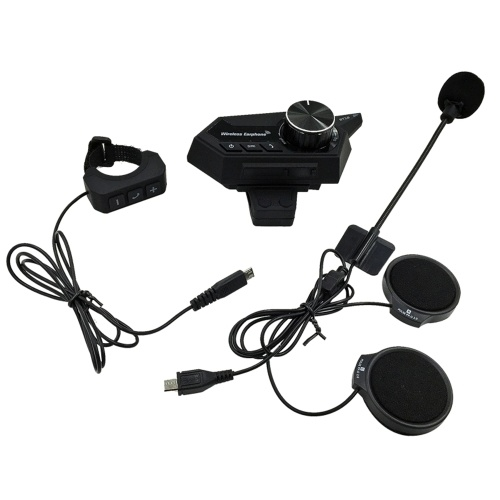Motorcycle Helmet Headset Motorbike Wireless Bluetooth 5.0 Headphones with Microphone Supports Automatic Answering Motor Helmet Earphone