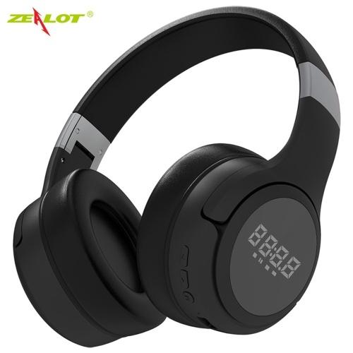 ZEALOT B28 Беспроводные наушники Bluetooth-гарнитура Складные стереонаушники Игровые наушники с микрофоном для ПК Мобильный телефон MP3
