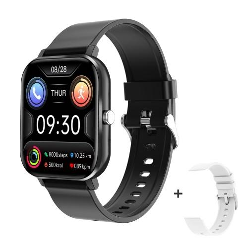 LV68 1,54 Zoll Smart Watch Männer Full Touch Fitness Tracker Drahtloser Anruf Blutdruck Frauen Smartwatch Sport Smart Armband für Android IOS