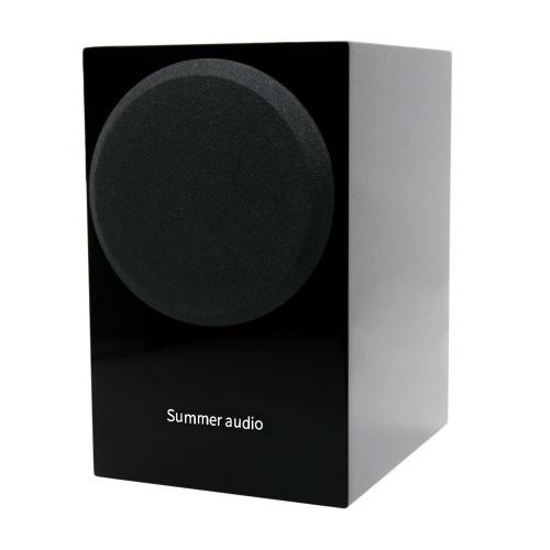 Summer Audio S3 Speaker 2.0-канальные пассивные стереофонические полочные колонки Hi-Fi с противоскользящим ковриком для домашней системы V8589B