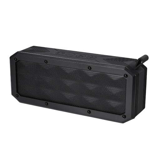 BT-Außenlautsprecher Multifunktionale drahtlos tragbare TF-Karte AUX-Eingang MP3-Player IP65 Wasserdichte wiederaufladbare Mini-Lautsprecherbox