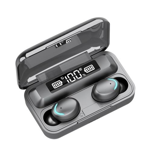 5.1 BT Connected Headset Наушники Наушники Наушники Светодиоды Чувствительный бинауральный динамик Встроенный 1500 мАч Ящик для хранения аккумуляторных батарей большой емкости Мини-портативный
