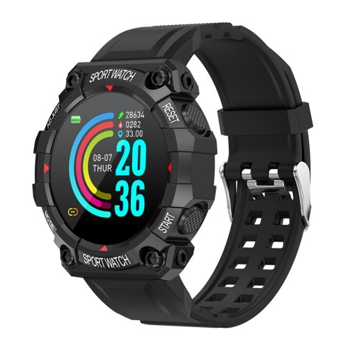FD68 Fashion Intelligent Sport Watch High Definition Digital Display IP67 Waterproof Heart Rate Sleeping Monitor Multifunctional BT Sport Watch