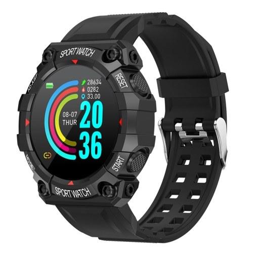 Relógio esportivo inteligente FD68 de alta definição com tela digital IP67 à prova d'água Monitor de frequência cardíaca para dormir multifuncional BT Sport