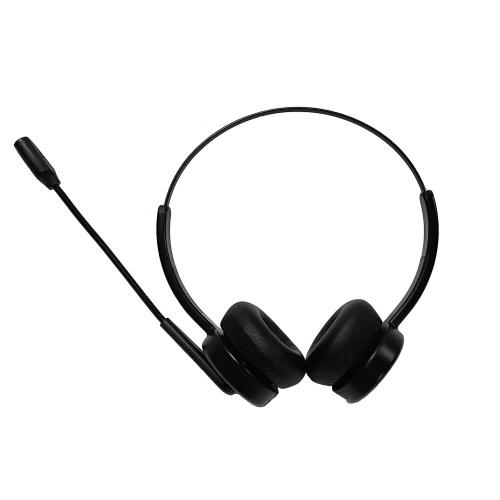 Wireless Bluetooth 5.2 Headphones On Ear Headset with Mic Lightweight Portable Headphone Adjustable Headband Supports Phone Call & Music