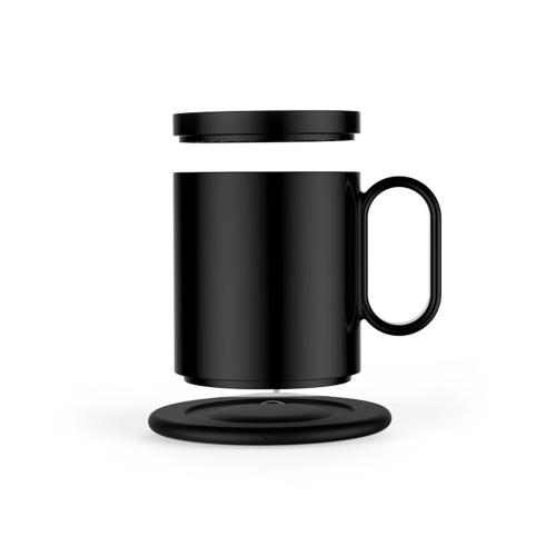 Подогреватель кружек USB с беспроводным зарядным устройством 2 в 1 Подогреватель кофейных кружек для офиса Домашняя кружка для напитков Постоянная температура Подогреватель кофейных чашек для стола